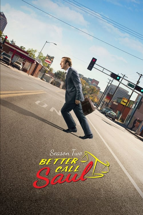 Cover of the Season 2 of Better Call Saul