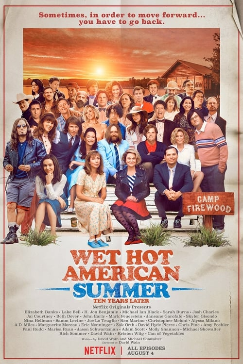 Cover of the Season 1 of Wet Hot American Summer: 10 Years Later