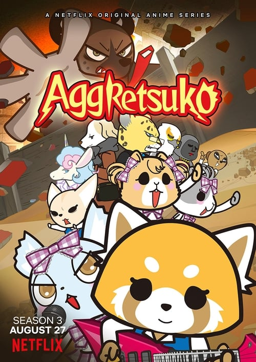 Cover of the Season 3 of Aggretsuko