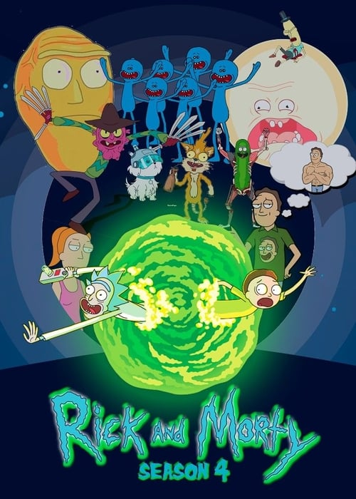 Cover of the Season 4 of Rick and Morty