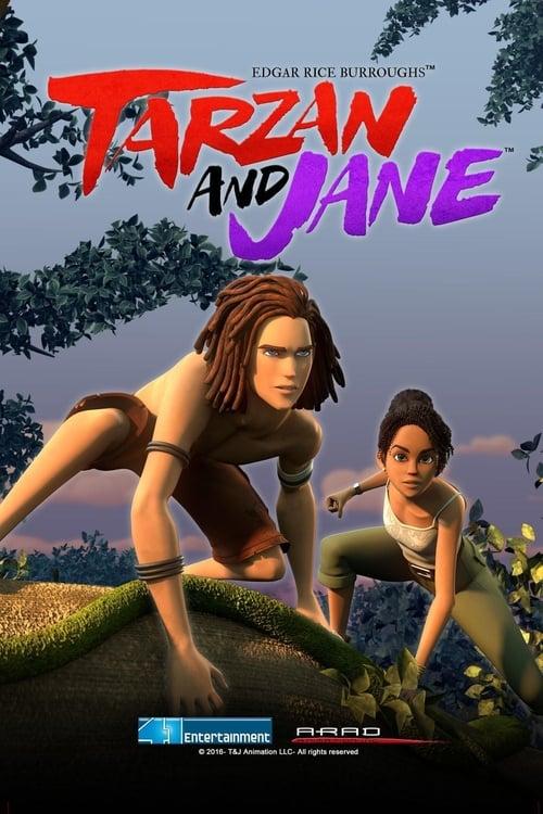Cover of the Season 1 of Edgar Rice Burroughs' Tarzan and Jane
