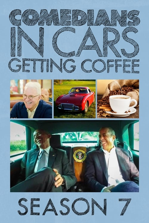 Cover of the Season 7 of Comedians in Cars Getting Coffee