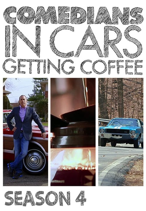 Cover of the Season 4 of Comedians in Cars Getting Coffee