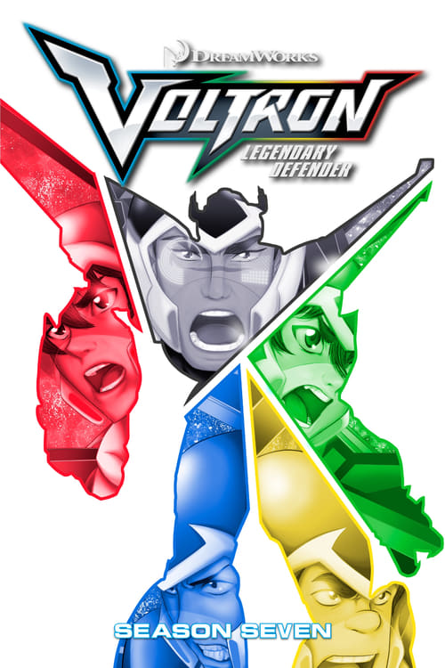 Cover of the Season 7 of Voltron: Legendary Defender