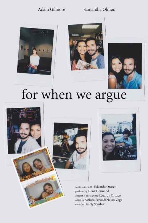 For When We Argue 2018