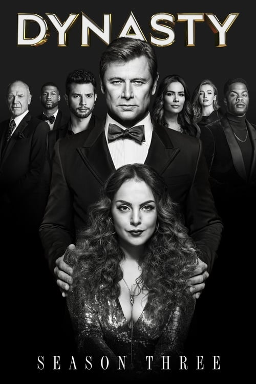 Cover of the Season 3 of Dynasty