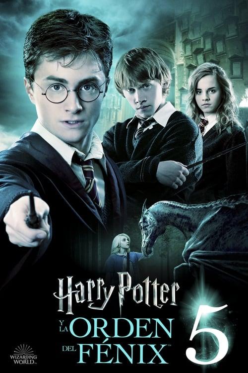 Harry Potter y la Orden del Fénix (2007) Repelisplus Ver Ahora Películas Online Gratis Completas en Español y Latino HD