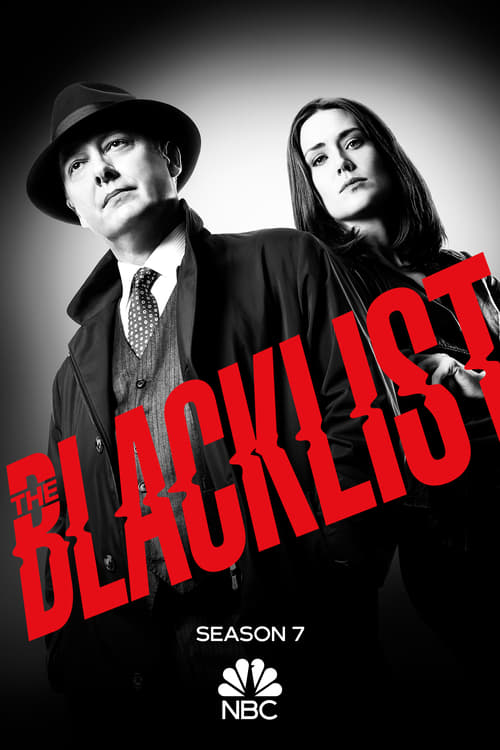 Cover of the Season 7 of The Blacklist