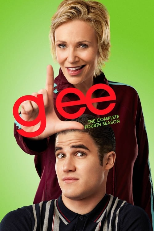 Cover of the Season 4 of Glee