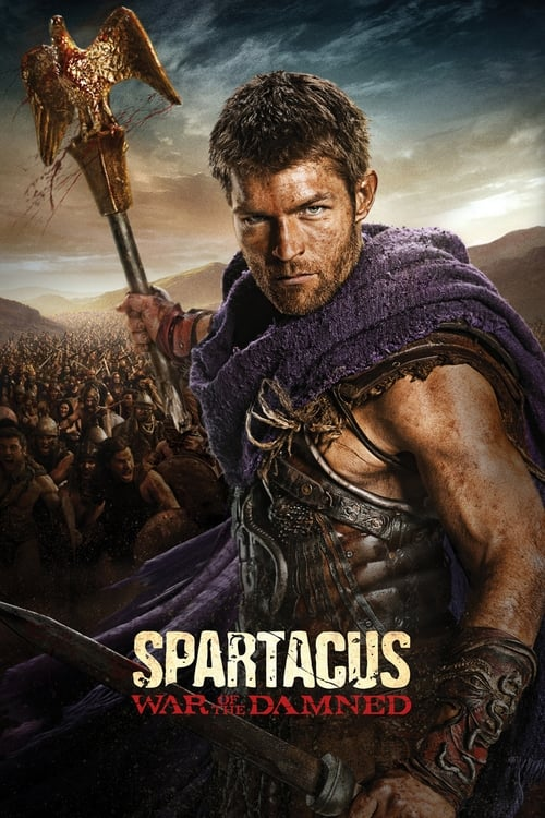 Cover of the War of the Damned of Spartacus