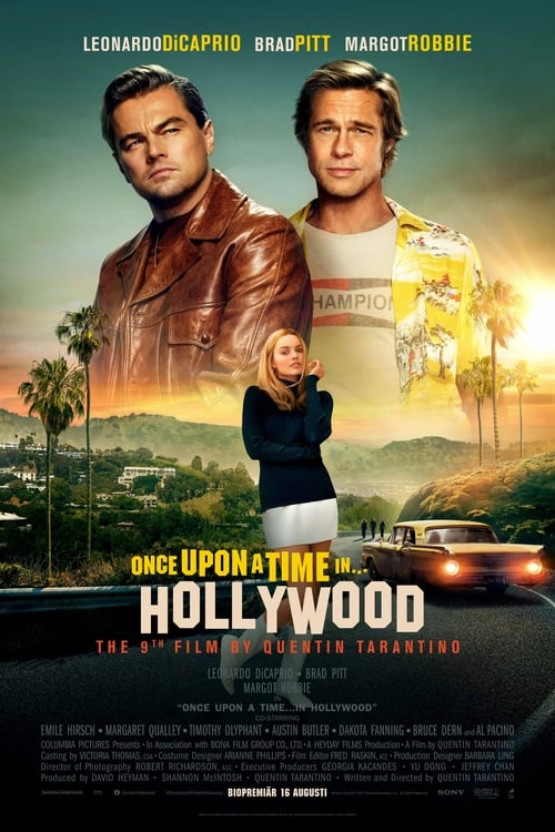 Poster för Once Upon a Time in Hollywood - Banner