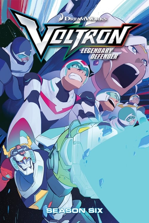 Cover of the Season 6 of Voltron: Legendary Defender