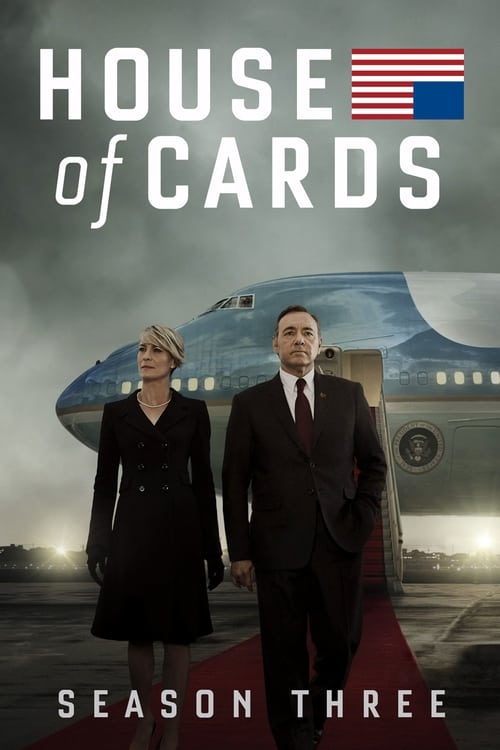 Cover of the Season 3 of House of Cards
