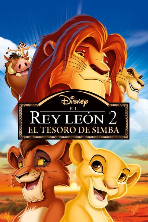 El rey león 2: El tesoro de Simba (1998) Repelisplus Ver Ahora Películas Online Gratis Completas en Español y Latino HD