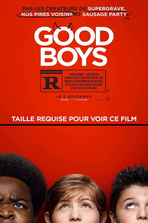 Good Boys (2019) Film complet HD Anglais Sous-titre