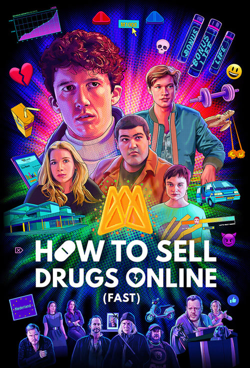 Cover of the Season 2 of How to Sell Drugs Online (Fast)