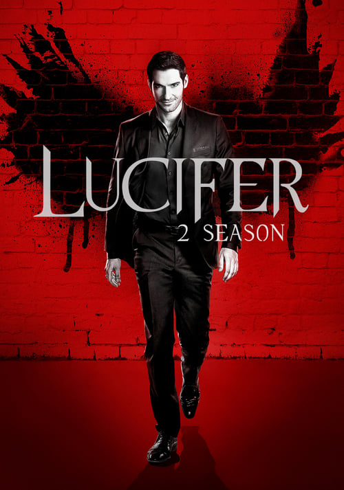 Cover of the Season 2 of Lucifer