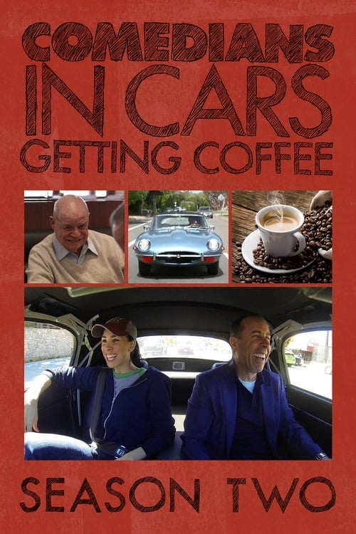 Cover of the Season 2 of Comedians in Cars Getting Coffee