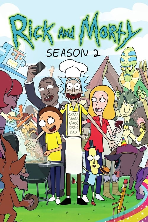 Cover of the Season 2 of Rick and Morty