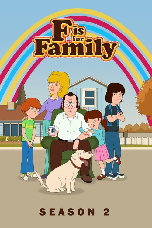 Cover of the Season 2 of F is for Family