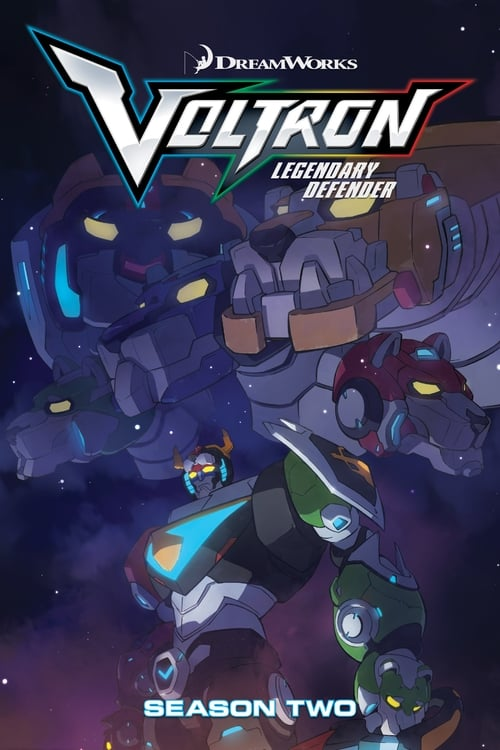 Cover of the Season 2 of Voltron: Legendary Defender