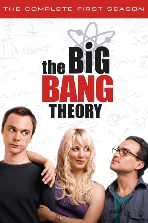 Cover of the Season 1 of The Big Bang Theory