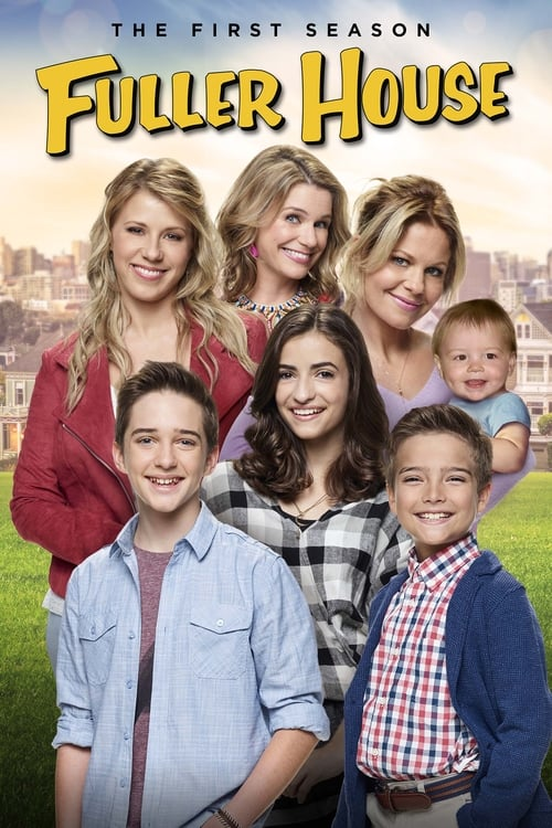 Cover of the Season 1 of Fuller House