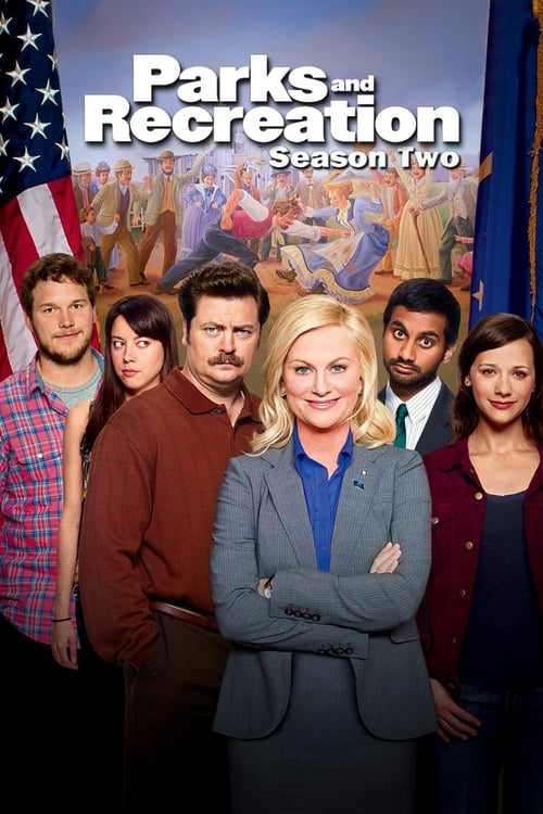 Cover of the Season 2 of Parks and Recreation