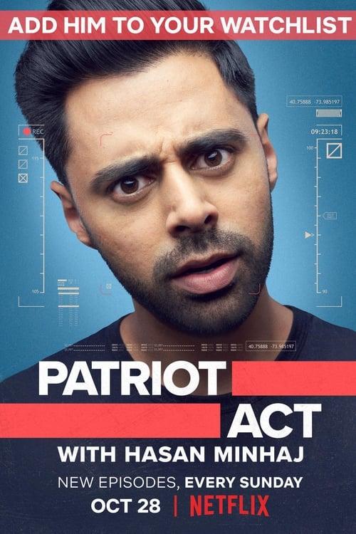 Poster von Patriot Act with Hasan Minhaj