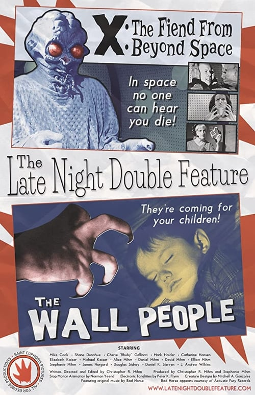 The Late Night Double Feature (2014) Poster