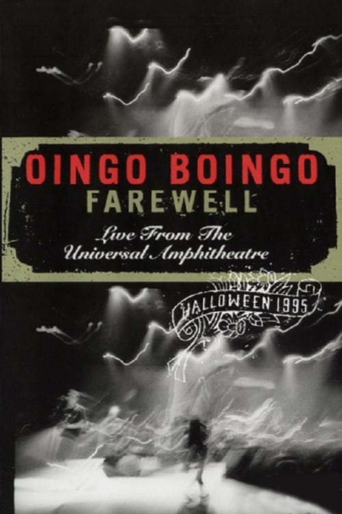 Largescale poster for Oingo Boingo: Farewell (Live from the Universal Amphitheatre)