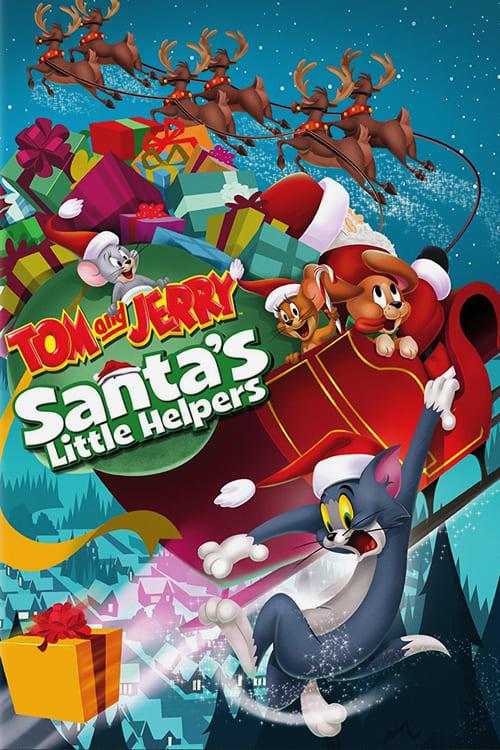 [1080p] Tom et Jerry - Droles de lutins pour le père Noel (2014) streaming