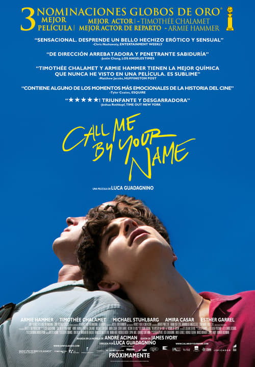 Imagen Call Me by Your Name