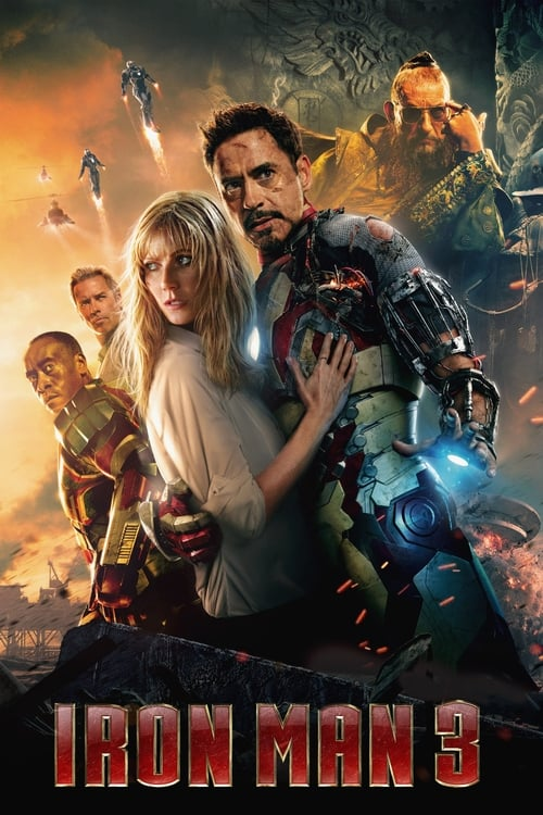 Largescale poster for Iron Man 3