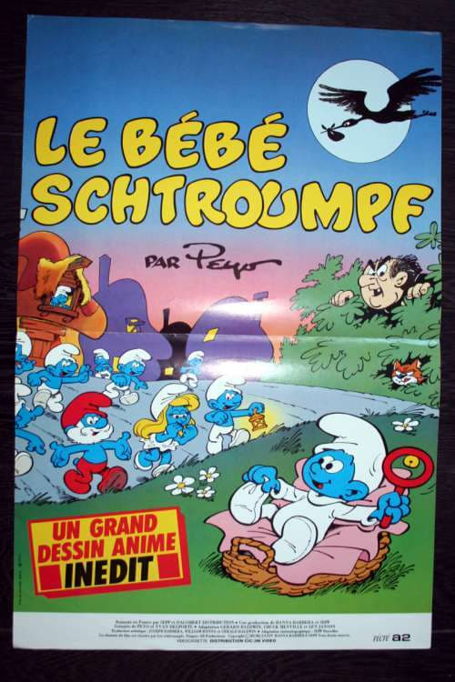 ➤ Le bébé schtroumpf (1984) streaming vf