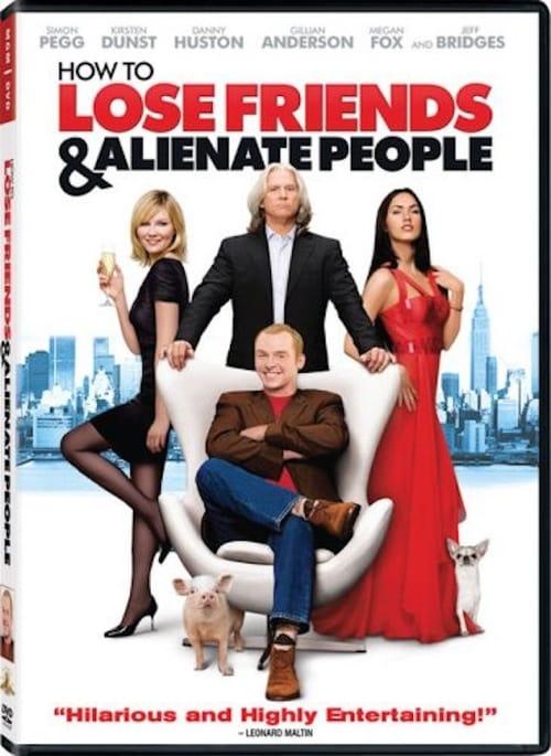 Watch How to Lose Friends & Alienate People (2008) Movie Free Online