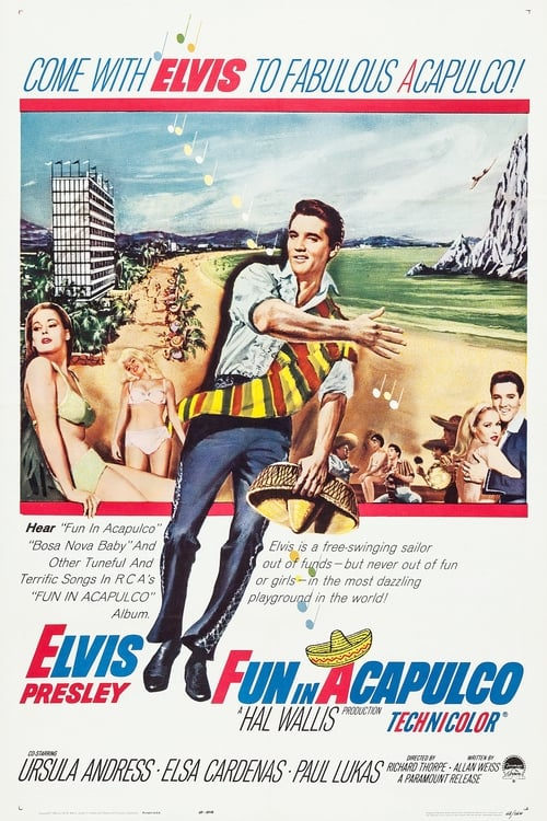 Watch Fun in Acapulco (1963) Best Quality Movie