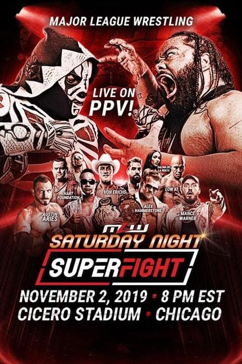 Regarder MLW Saturday Night SuperFight Doublée En Français
