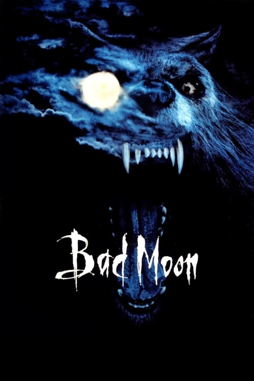 The poster of Bad Moon