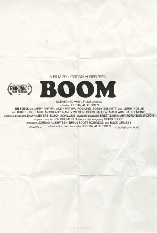 Can I Watch BOOM! A Film About the Sonics Online