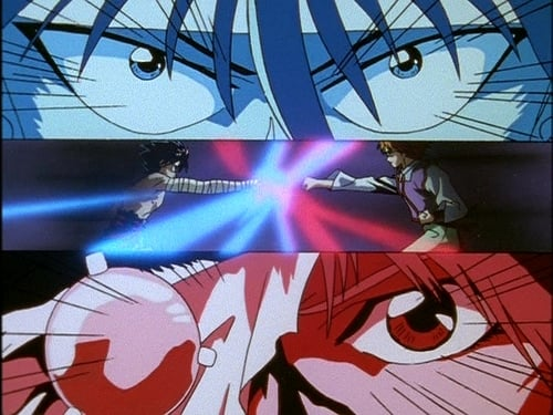 A Luta entre Hiei e Mukuro