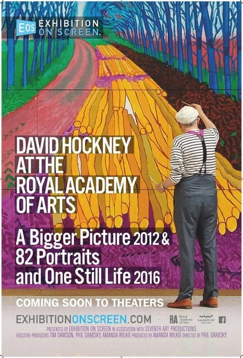 Was ist David Hockney at the Royal Academy of Arts - Exhibition on Screen
