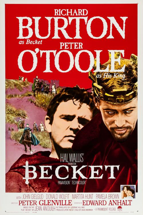 Streaming Becket (1964) Movie Free Online
