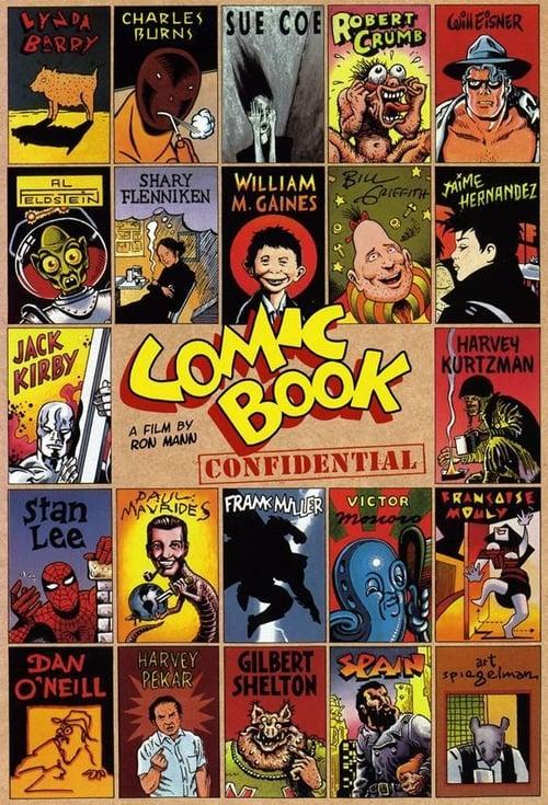 Mira Comic Book Confidential En Buena Calidad Hd