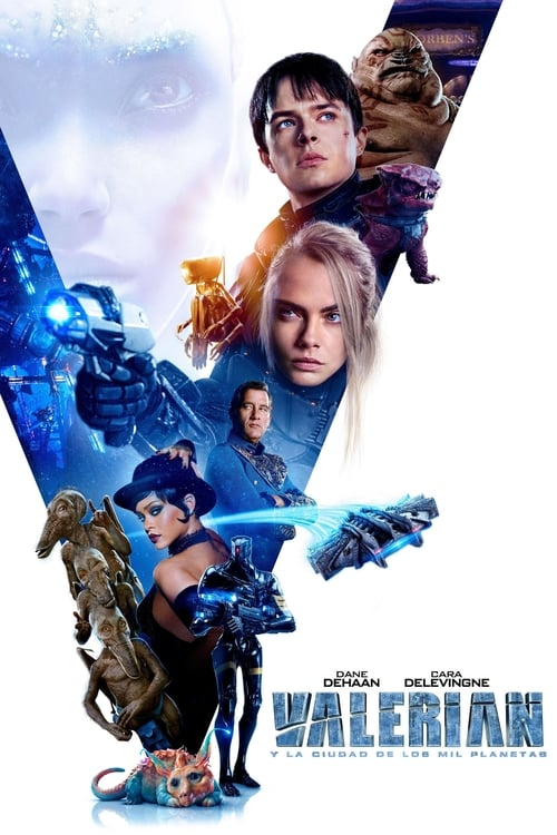 Valerian and the City of a Thousand Planets Peliculas gratis