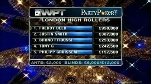 World Poker Tour 2011 Tv Show 300mb: Season 9 – Episode London High Rollers - Part 2