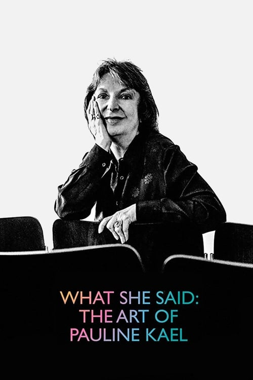 Assistir Filme What She Said: The Art of Pauline Kael Gratuitamente Em Português