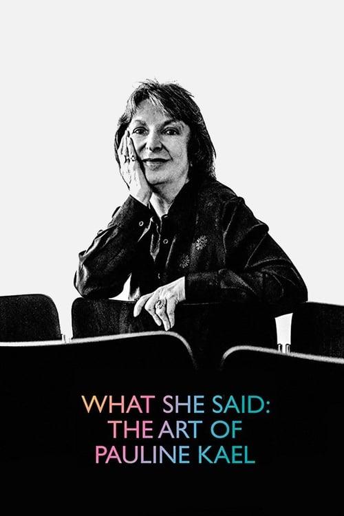 Assistir Filme What She Said: The Art of Pauline Kael Gratuitamente Em Português