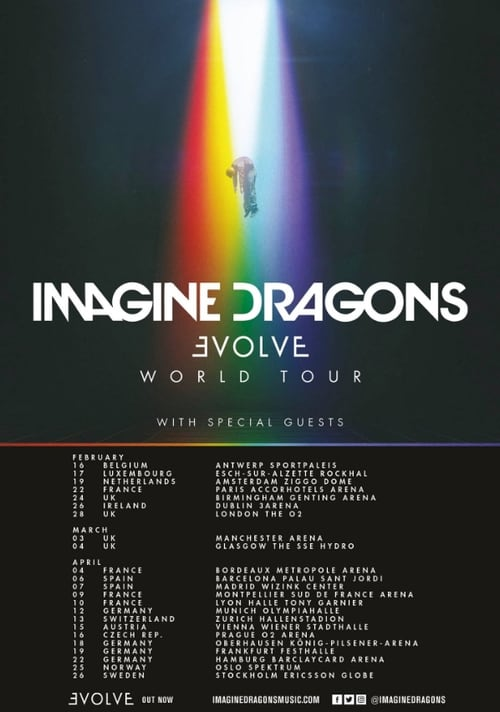 Imagine Dragons Evolve - Live in Canada for Live Nation
