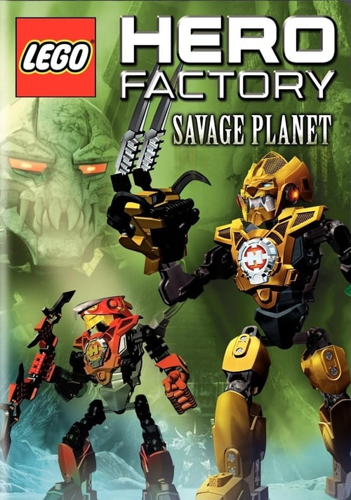 Largescale poster for Lego Hero Factory: Savage Planet